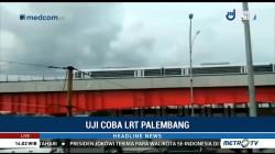 400 Undangan Uji Coba LRT Palembang Hari Ini