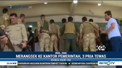 Pria Bersenjata Coba Duduki Kantor Pemerintahan di Irak