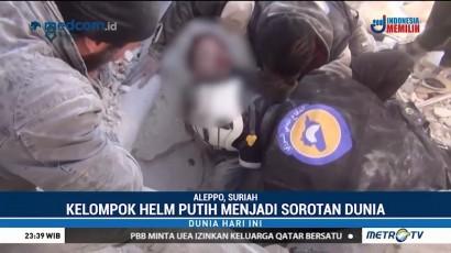 Kiprah Kemanusiaan Relawan <i>White Helmets</i>