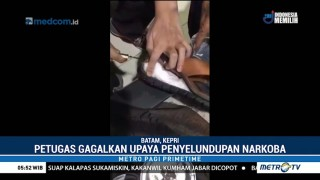 Calon Penumpang Pesawat Sembunyikan 1 Kg Sabu di Sandal