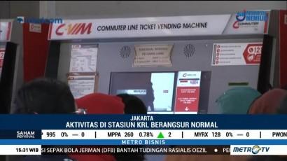 Kartu Flazz dan BRIZZI Belum Bisa Digunakan di Stasiun Manggarai