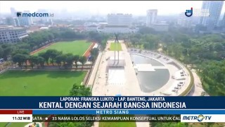 Lapangan Banteng Kental dengan Sejarah Indonesia