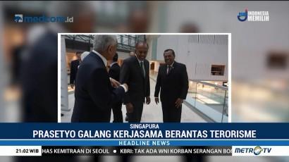 Prasetyo Ajak Jaksa Agung se-ASEAN Berantas Terorisme