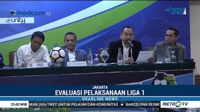 Evaluasi Putaran Pertama, Liga 1 Musim Ini Dinilai Lebih Baik
