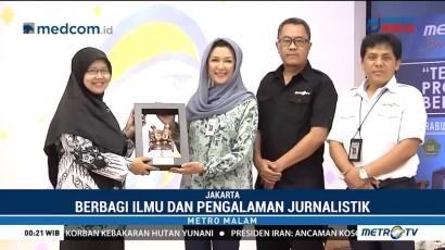 Metro TV Berbagi Ilmu Produksi Berita di MAN 4 Jakarta