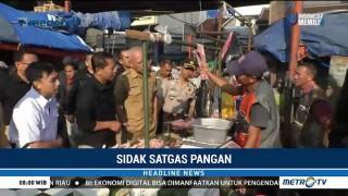 Satgas Pangan Sidak Sejumlah Pasar di Bandung