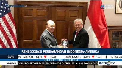 Renegosiasi Perdagangan Indonesia-Amerika