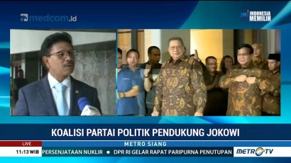 Demokrat Anggap Sulit Gabung Koalisi Jokowi, Ini Tanggapan NasDem