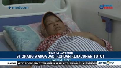 Korban Keracunan Keong Sawah di Sukabumi Capai 91 Orang, 1 Tewas