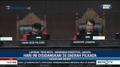 MK Gelar Sidang Perdana Sengketa Pilkada 2018