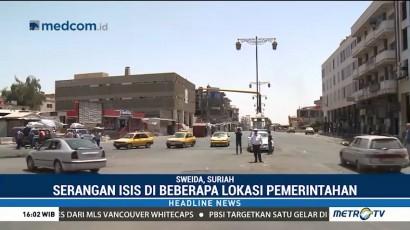 Serangan ISIS di Suriah Tewaskan 221 Orang