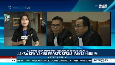 Jaksa KPK Minta Majelis Hakim Tolak PK Anas Urbaningrum