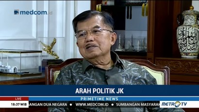 JK Akui Uji Materi Jabatan Wapres untuk Tentukan Langkah Politik