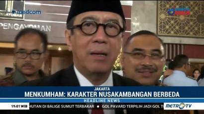 Yasonna Tolak Pindahkan Napi Sukamiskin ke Nusakambangan