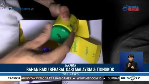 BPOM DKI Gerebek Gudang Kosmetik Ilegal di Penjaringan