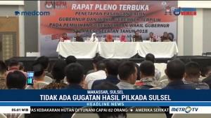 Nurdin-Andi Sudirman Ditetapkan sebagai Gubernur & Wagub Sulsel Terpilih
