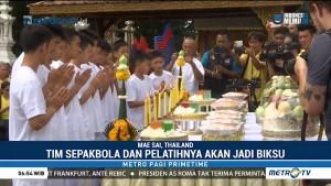 Remaja Thailand yang Terjebak di Gua akan Jadi Biksu
