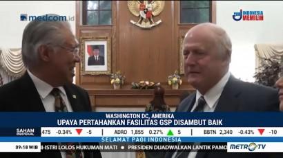 Lampu Hijau Negosiasi Dagang Indonesia-AS