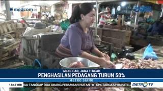 Harga Daging Ayam Melambung, Penghasilan Pedagang Turun 50%