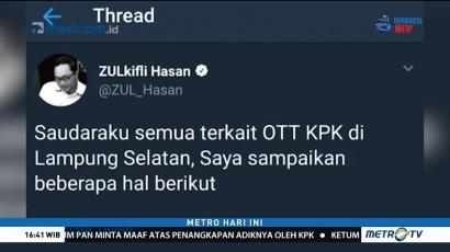 Adiknya Terjaring OTT, Zulkifli Hasan Minta Maaf