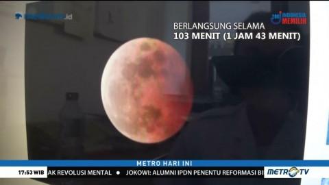 Gerhana Bulan Terlama Abad Ini Terjadi pada 28 Juli