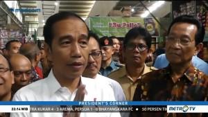 Jokowi Benahi 2.600 Pasar Tradisional dalam 3 Tahun