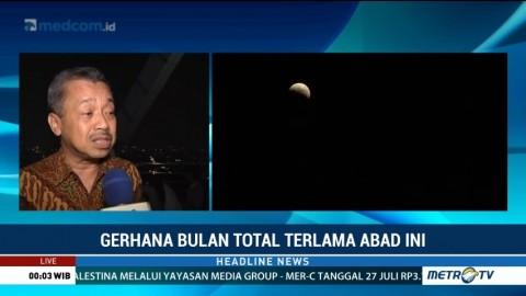 BMKG Pantau Gerhana Bulan Total di 24 Titik