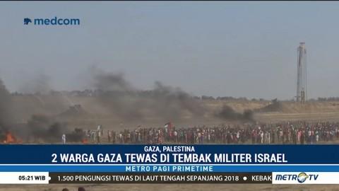 Militer Israel Tembak Mati Dua Warga Palestina