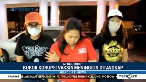 Kejati Sumut Tangkap Buronan Korupsi Vaksin Jemaah Umrah