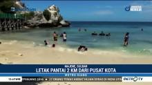 Pesona Pantai Dato untuk Berswafoto