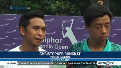 Justin/Christo Kalah di Final Combiphar Tennis Open 2018