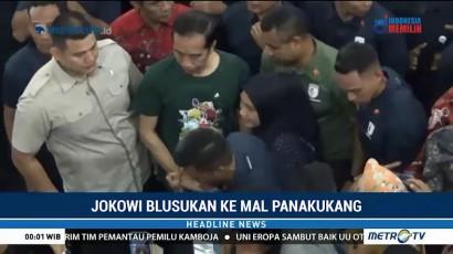 Jokowi Blusukan ke Mal Panakukang Makassar