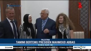 Ahed Tamimi Bertemu Presiden Palestina