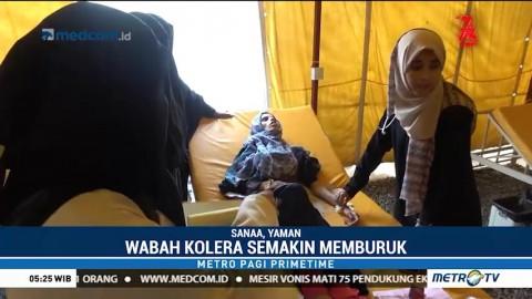 Wabah Kolera di Yaman Memburuk