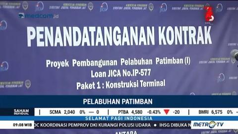 Proyek Pelabuhan Patimban Dimulai Agustus Mendatang