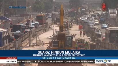 Greenpeace: Kualitas Udara di Jakarta Tidak Sehat