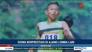 Tanpa Sepatu, Pelajar asal Pekalongan Ini Jadi Juara Lomba Lari