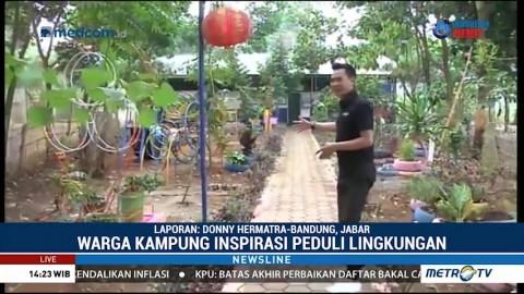 Belajar Mengolah Sampah di Kampung Inspirasi
