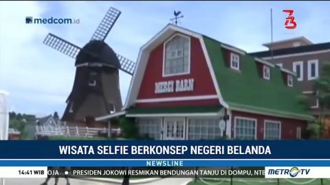 Wisata Selfie Berkonsep Negeri Belanda
