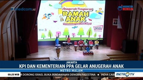 KPI dan Kementerian PPA Gelar Anugerah Penyiaran Ramah Anak