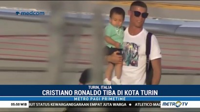 Ronaldo Jalani Latihan Perdana Bersama Juventus