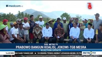 Prabowo Bangun Koalisi, Jokowi-TGB Mesra