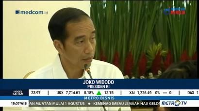 Jokowi Perintahkan Setop Impor Barang Tak Strategis