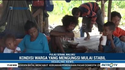 Suku Mausu Ane Menempati Tenda dari Pemerintah