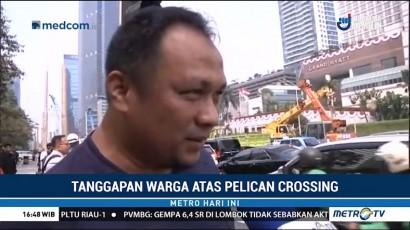 Warga DKI Sambut Positif Pelican Crossing