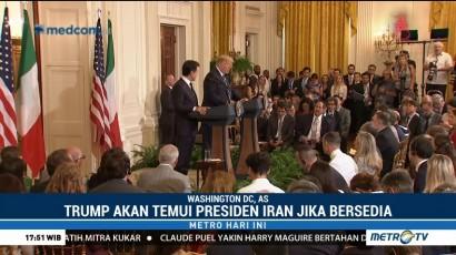Trump Ingin Temui Presiden Iran