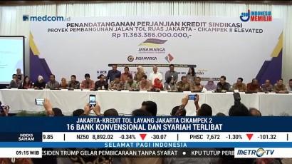 Proyek Tol Layang Jakarta-Cikampek II Dapat Kredit Sindikasi Rp11 T
