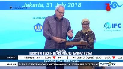 OJK Pantau Perkembangan Industri Teknologi Finansial