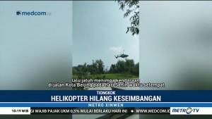 Helikopter Jatuh di Beijing, 4 Orang Terluka