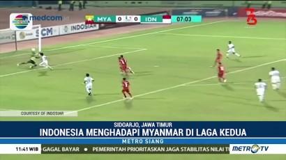 Dua Gol Bagus Kahfi Bawa Timnas Indonesia U-16 Menang atas Myanmar
